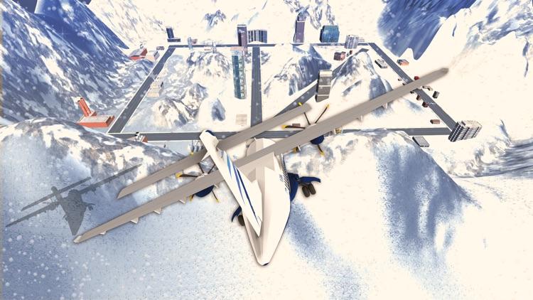 Snow Airplane Landing Simulation – Extreme Emergency Crash Landings