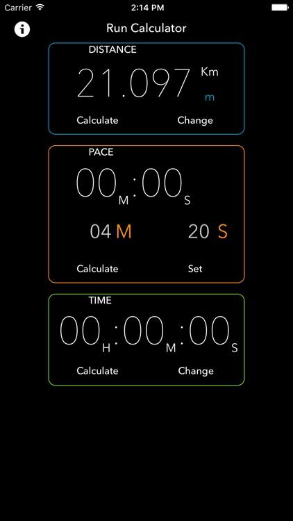 Run Calculator screenshot-3