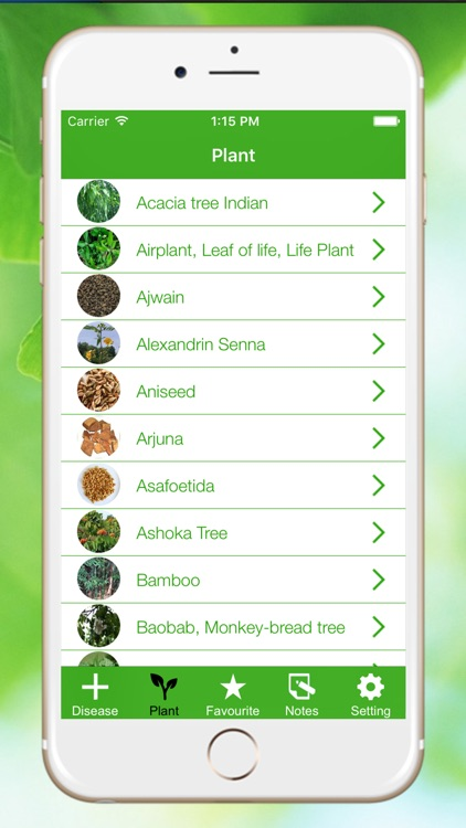 Natural Ayurvedic Remedies Herb screenshot-0