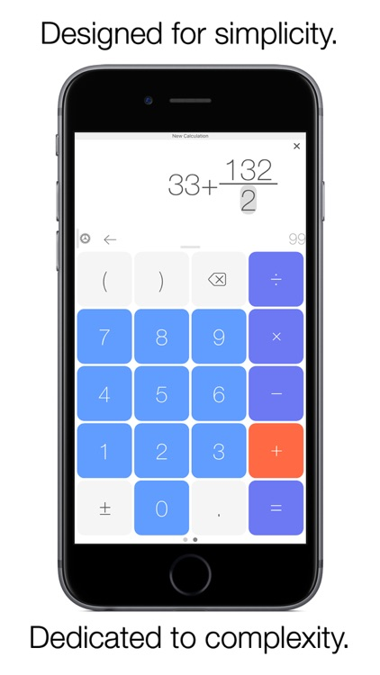 Plain Calc - The Classy Calculator for iPhone, iPad and Apple Watch