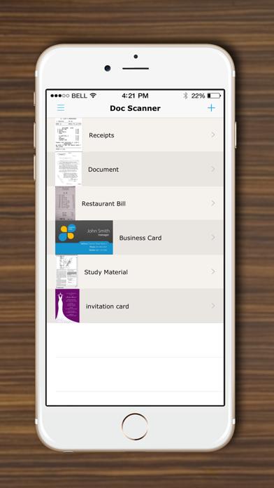DocScanner - Scan Documents, Receipts, Biz Cardsのおすすめ画像2