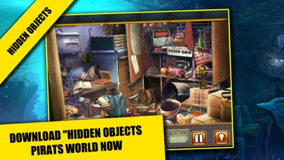 Pirates World Hidden objects adventure game : Search and Find objects screenshot three
