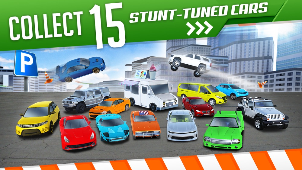 Roof Jumping 3 Stunt Driver Parking Simulator an Extreme Real Car Racing Game hack tool