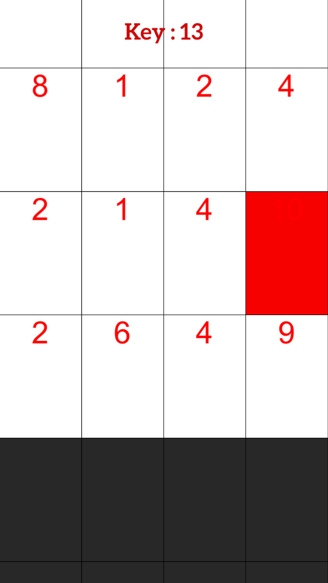 White Piano Number Tiles:Don't Tap Math Even Keyboard Tile screenshot two