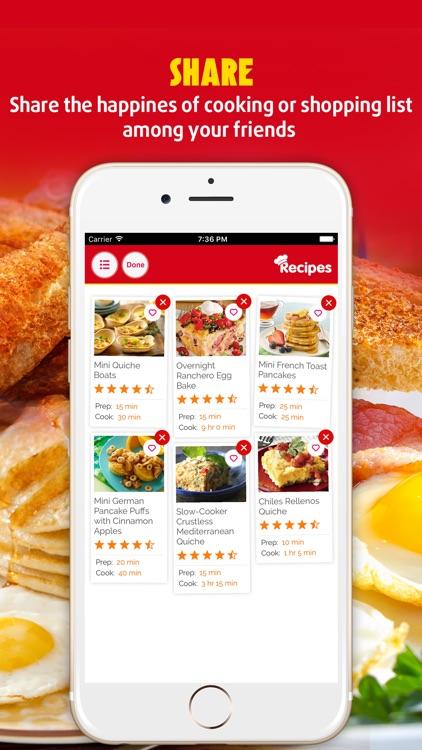 Easy Breakfast ~ The Best Breakfast & Brunch Recipes screenshot-4