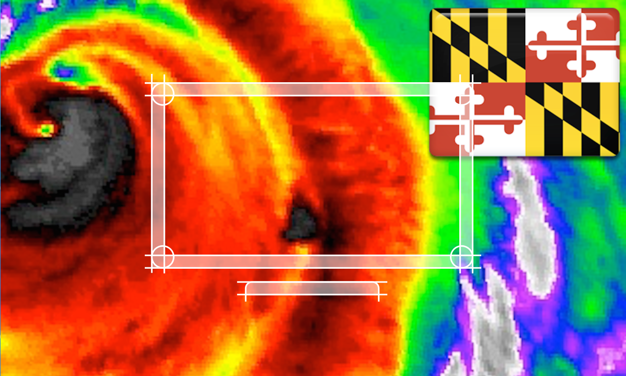 Maryland/Baltimore NOAA Radar with Traffic Cameras 3D Pro