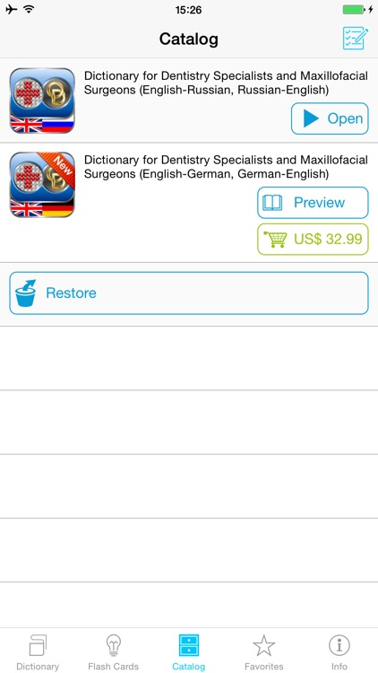Operator's English Bilingual Dictionaries for Dentistry Specialists and Maxillofacial Surgeons