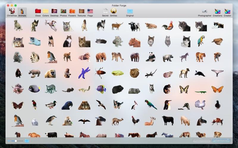Colored Folder Creator Screenshot