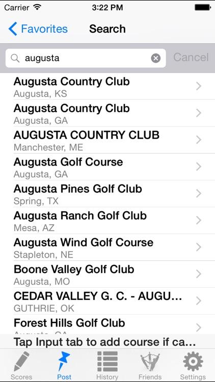 Golf Handicap Tracker & Calculator (US, Canada, Australia) screenshot-3