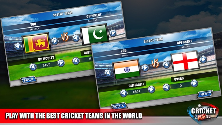 Cricket Play 3D - Live The Game (World Pro Team Challenge Cup 2016) screenshot-4