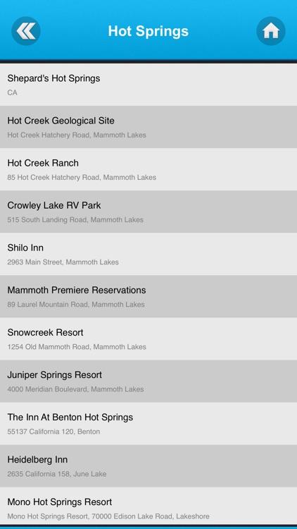 California Best Hot Springs screenshot-4