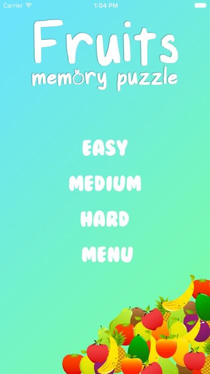 Fruit Memory Puzzle screenshot-4