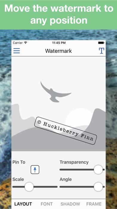 Batch Photo Watermark app image