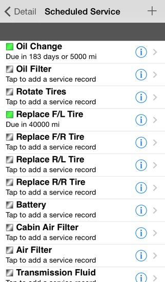 cartune free vehicle maintenance and gas mileage tracker app