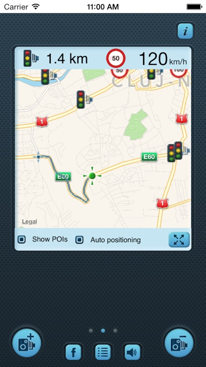 i SpeedCam World (Speed Camera Detector with GPS Tracking)