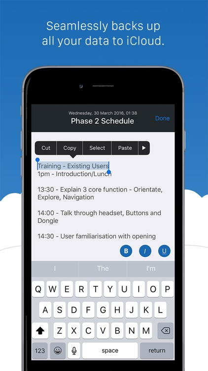 Notesero - capture notes, password protect folders and backup to the cloud. screenshot-4