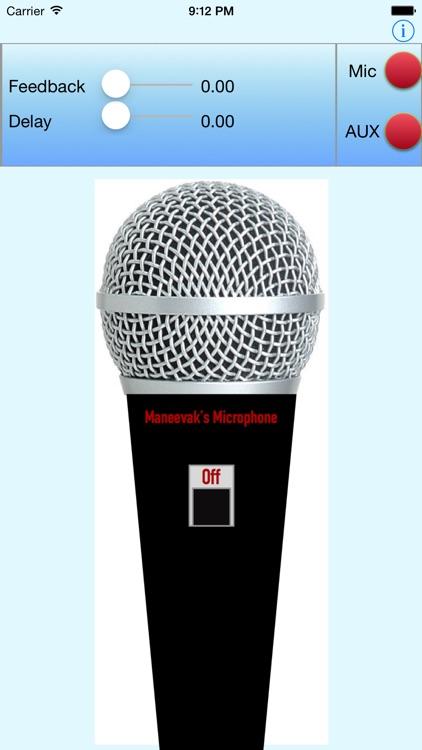 Mega Mic Microphone Megaphone AUX Bluetooth