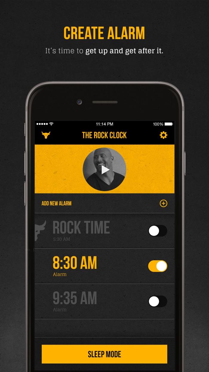 The Rock Clock™ Screenshot