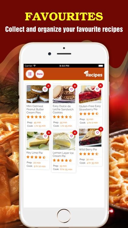 Delicious Pie Recipes Pro screenshot-3