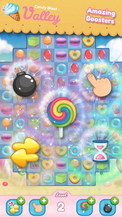 Candy Blast Valley screenshot-3