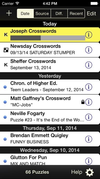 Crosswords Classic screenshot1
