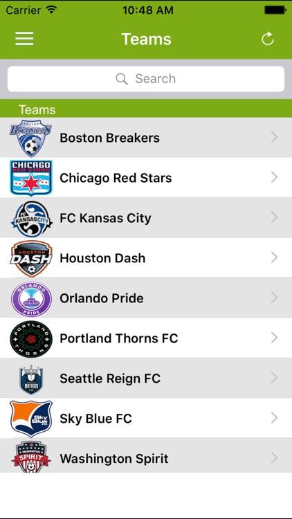 Soccer Pro-Live Scores-NWSL-US screenshot-3