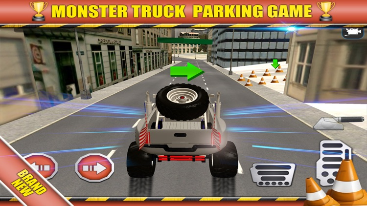 3D Monster Truck Game