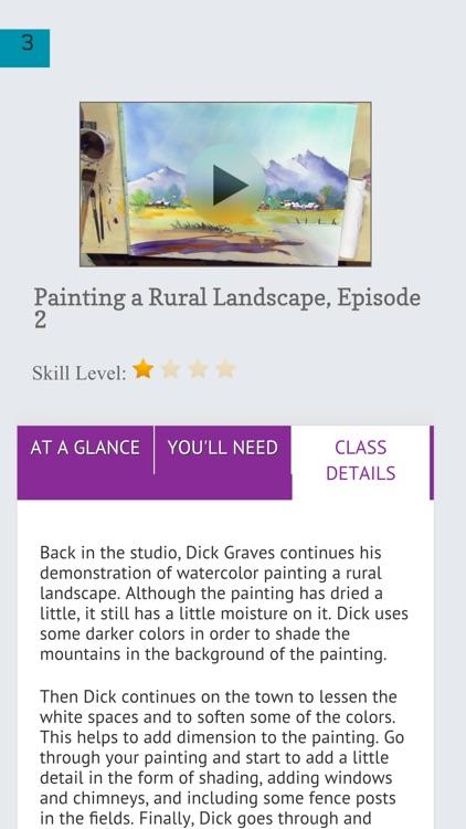 Watercolor Painting a Landscape screenshot-3