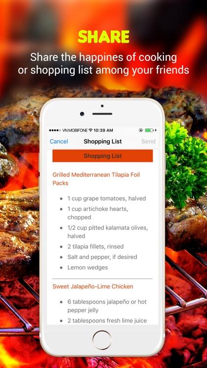 Yummy Grill Recipes Pro screenshot-4