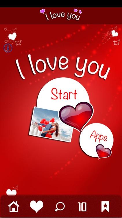 I Love You - Love Quotes & Romantic Greetings screenshot-4