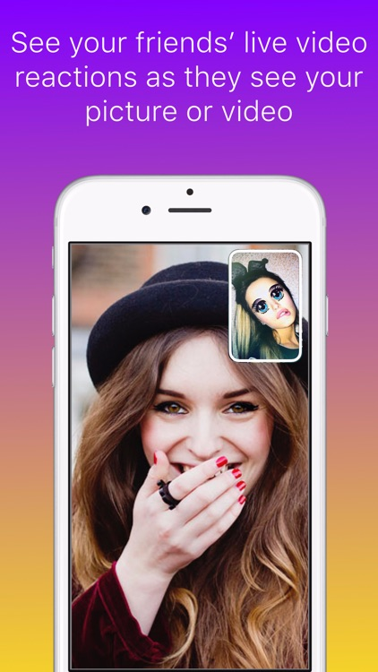 wipe messenger - share a moment, get a reaction!