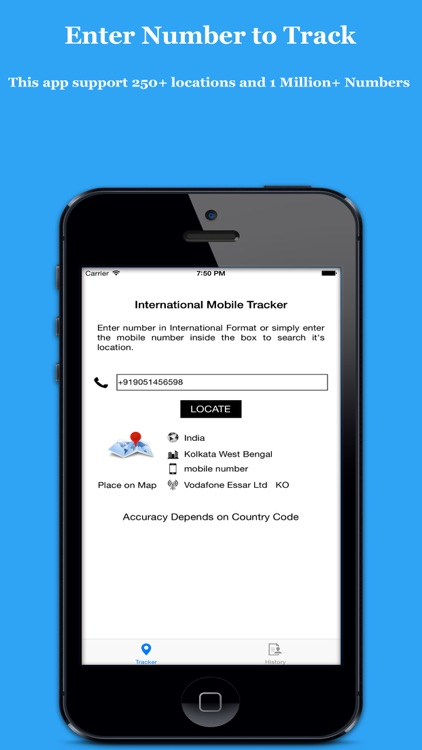 Search & Track Number - Mobile Number Tracker Unlimited
