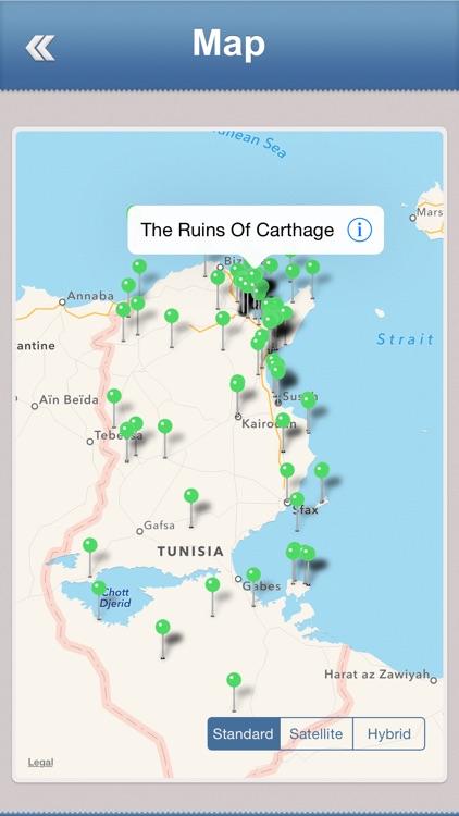 Tunisia Offline Travel Guide screenshot-3