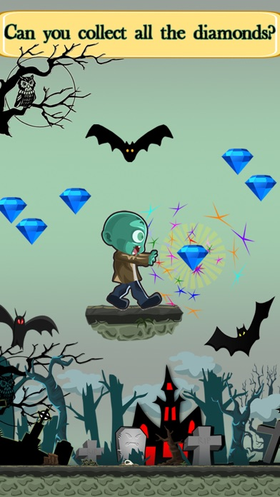 Zombie Challenge Run Game with Zombies: Fun for Early Grades and Kindergarten Kids screenshot three