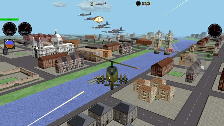 RC Helicopter 3D Lite screenshot-1