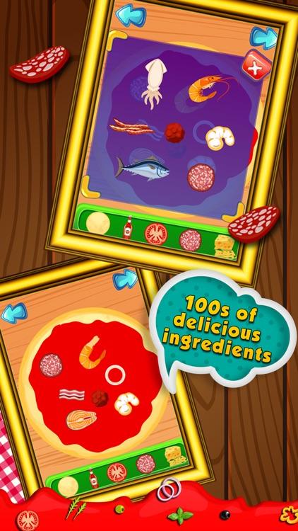 Pizza Fever-Free fun cooking game for kids & girls screenshot-3