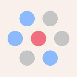 Circle Red Dots
