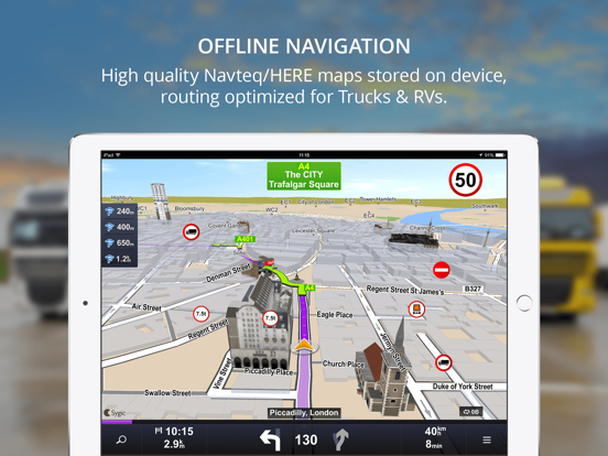 Sygic Truck GPS Navigation | App Price Drops