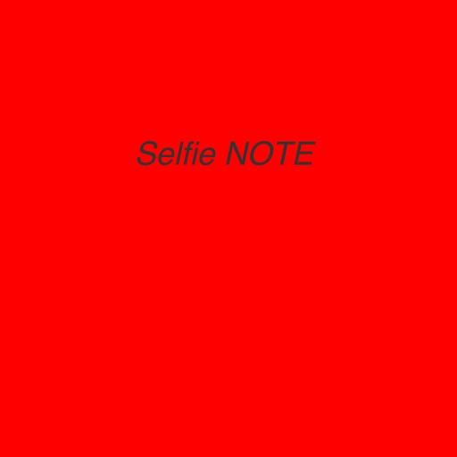 selfie note