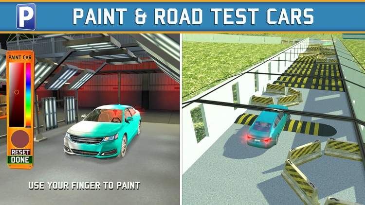 Car Factory Parking Simulator a Real Garage Repair Shop Racing Game screenshot-3