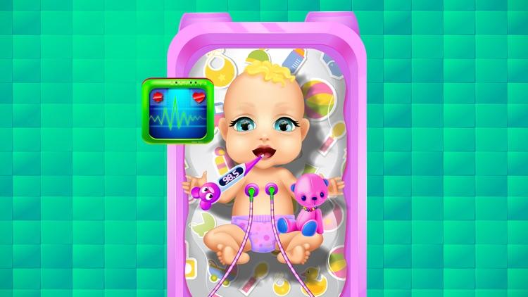 Mommy's Newborn Baby Hospital - Girls Doctor Games screenshot-4