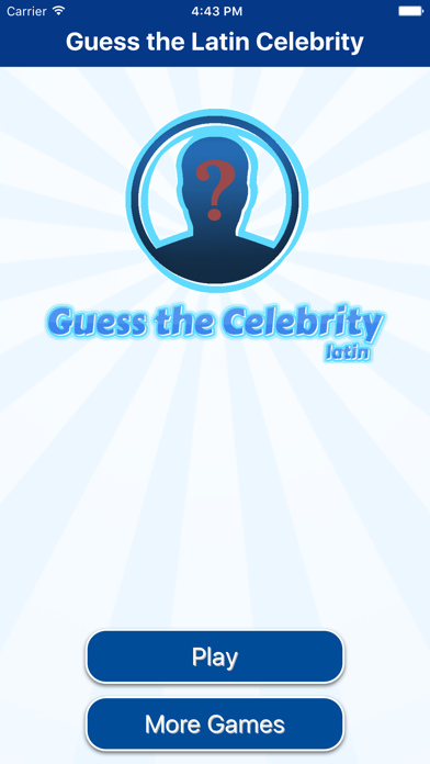 Latin Celebrity Guess.