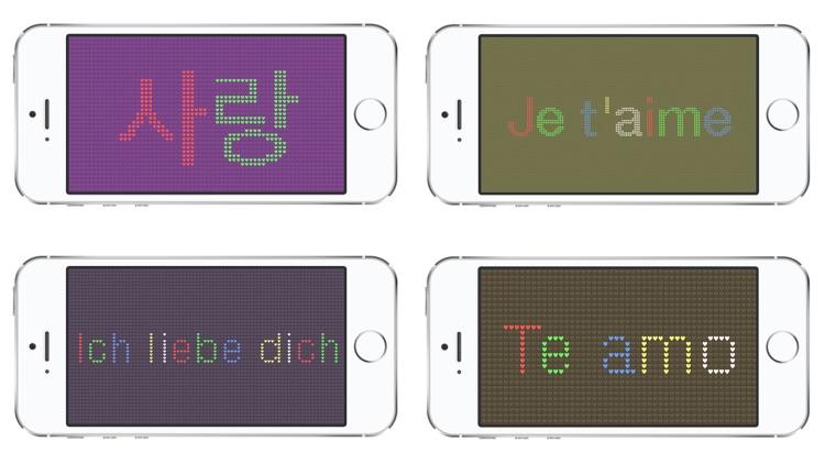iLED Pro - Ultimate LED Banner App screenshot-3
