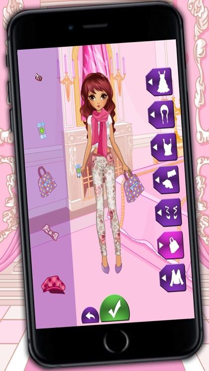 Fashion and design games – dress up catwalk models and fashion girls screenshot-3