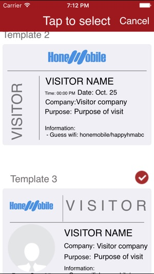 visitor management on the app store