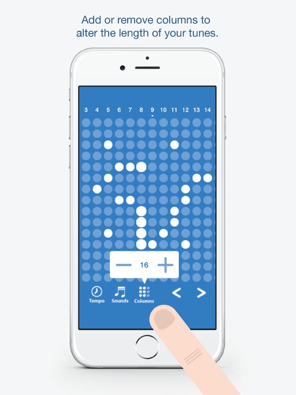Ipad Screen Shot Tones - Fun and easy to use music creation app 3