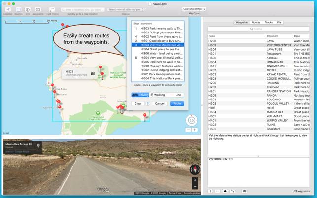Mac App Store ĸ�的 Gpx Viewer
