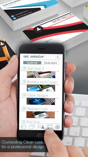Business card creator pro on the app store reheart Image collections