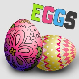 Easter Egg Painter - Virtual Simulator to Decorate Festival Eggs & Switch Color Pattern