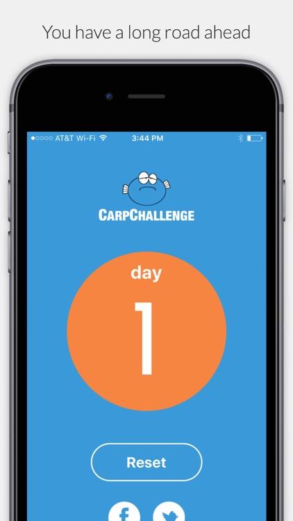 Carp - 21 Day No Complaint Challenge